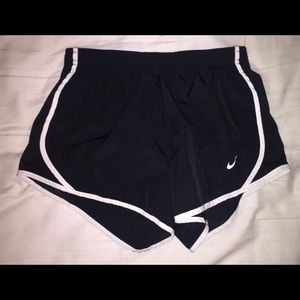 Girls Nike dry fit shorts